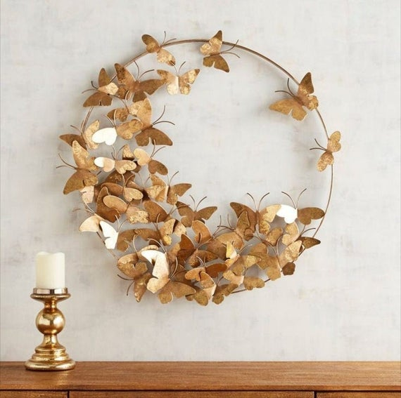 8. Butterfly Wall Décor