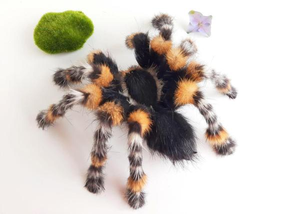 2. Taranrula Spider Fluffy Posable Art Doll